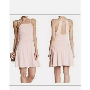 19 Cooper Pink Sleeveless Fit & Flare Dress